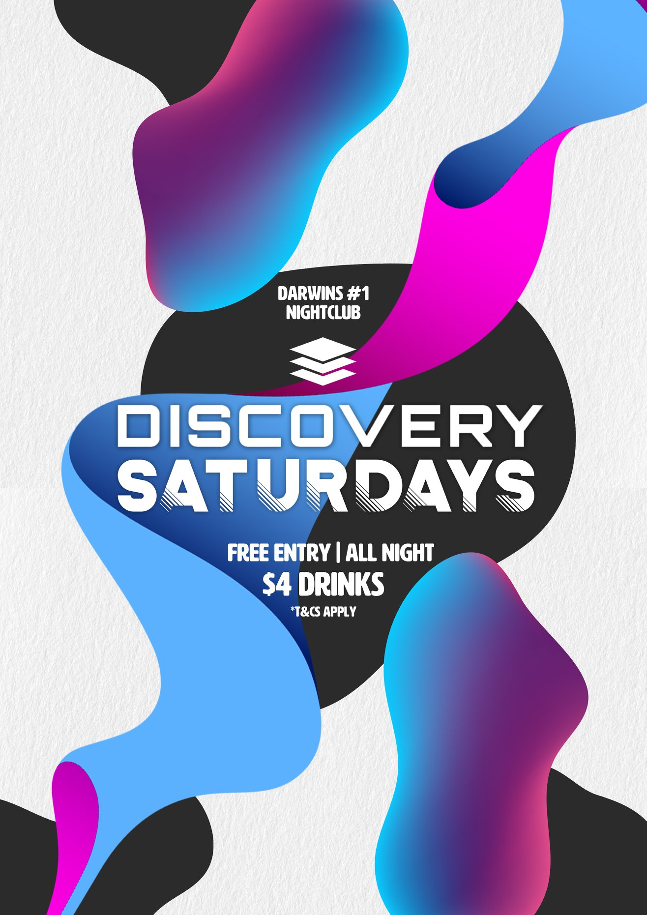 Discovery Saturdays - $4 Drinks and Free Entry