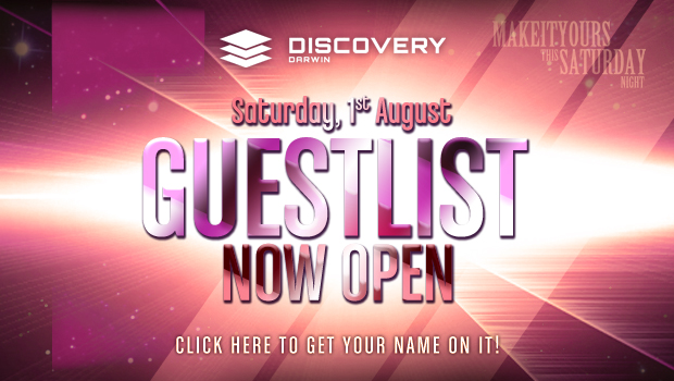 Discovery Saturday Night Guest List