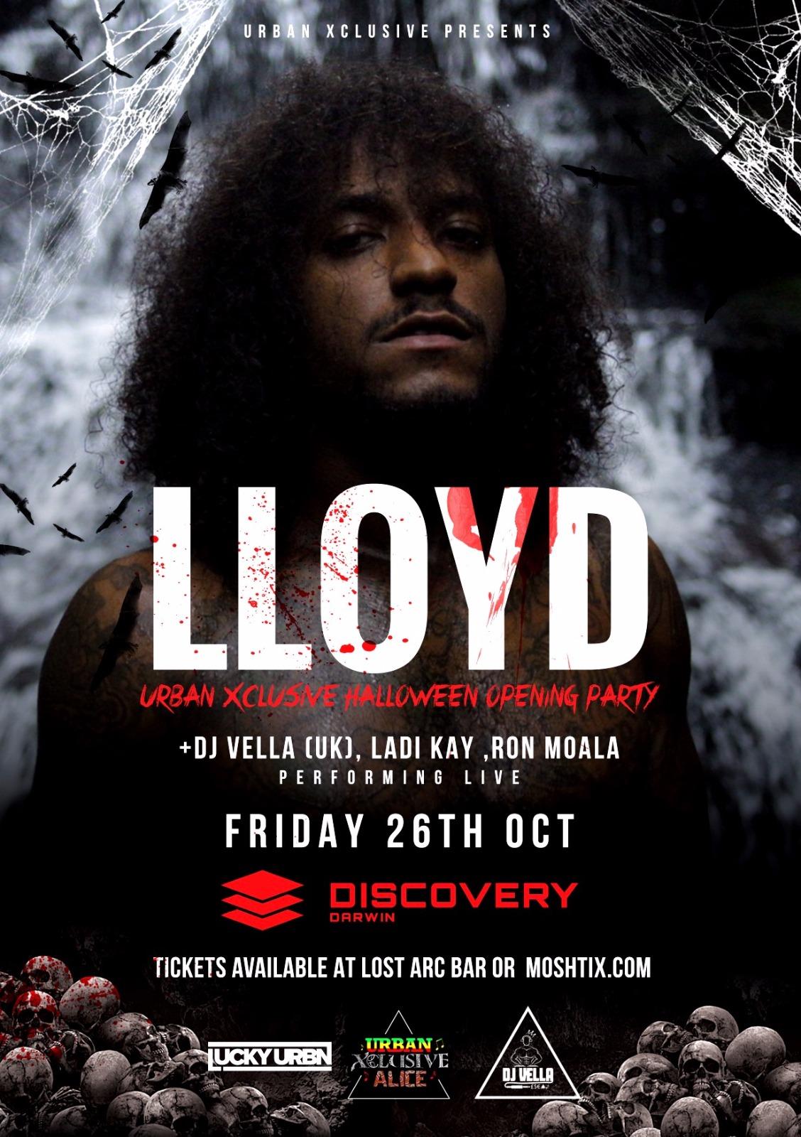 Lloyd Live 26th October 2018