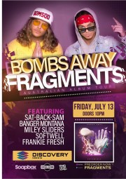 Bombs Away Fragments Tour - 13th July 2018