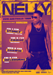 Nelly 2019 Australian Tour